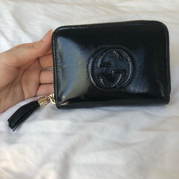 Gucci Handbags - Gucci Soho Disco Zip Around Wallet